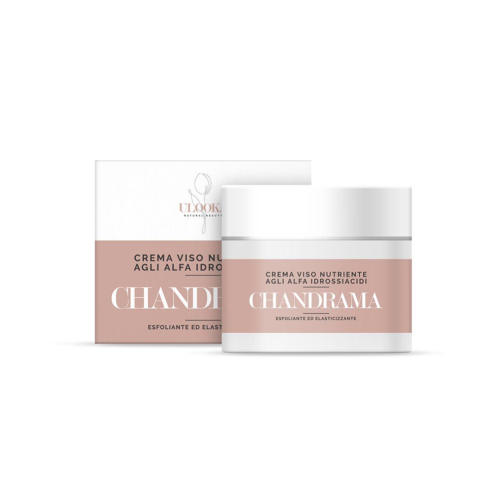 Chandrama - crema notte esfoliante ed elasticizzante